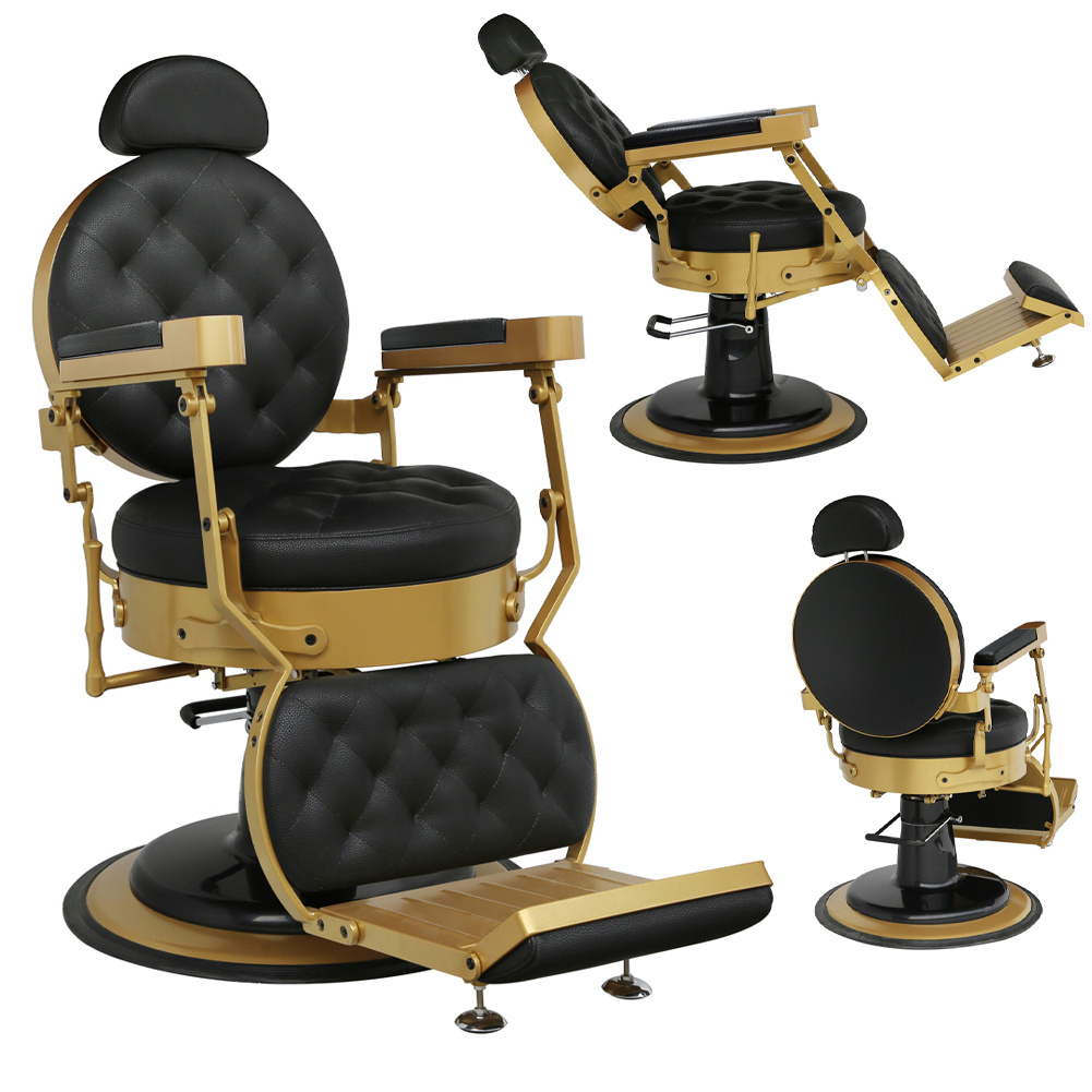 Details about Classic Barber Chair Salon Styling Hair Beauty Hydraulic Recliner Couch Chair UK
