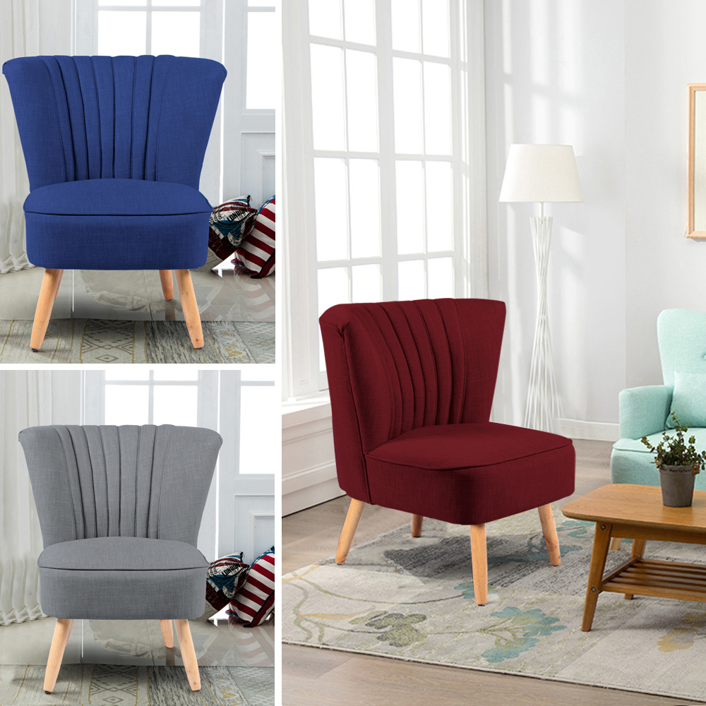 Comfort Padded Sofa Chair Living Room Leisure Chair Bedroom Dressing Sofa  Chairs  eBay