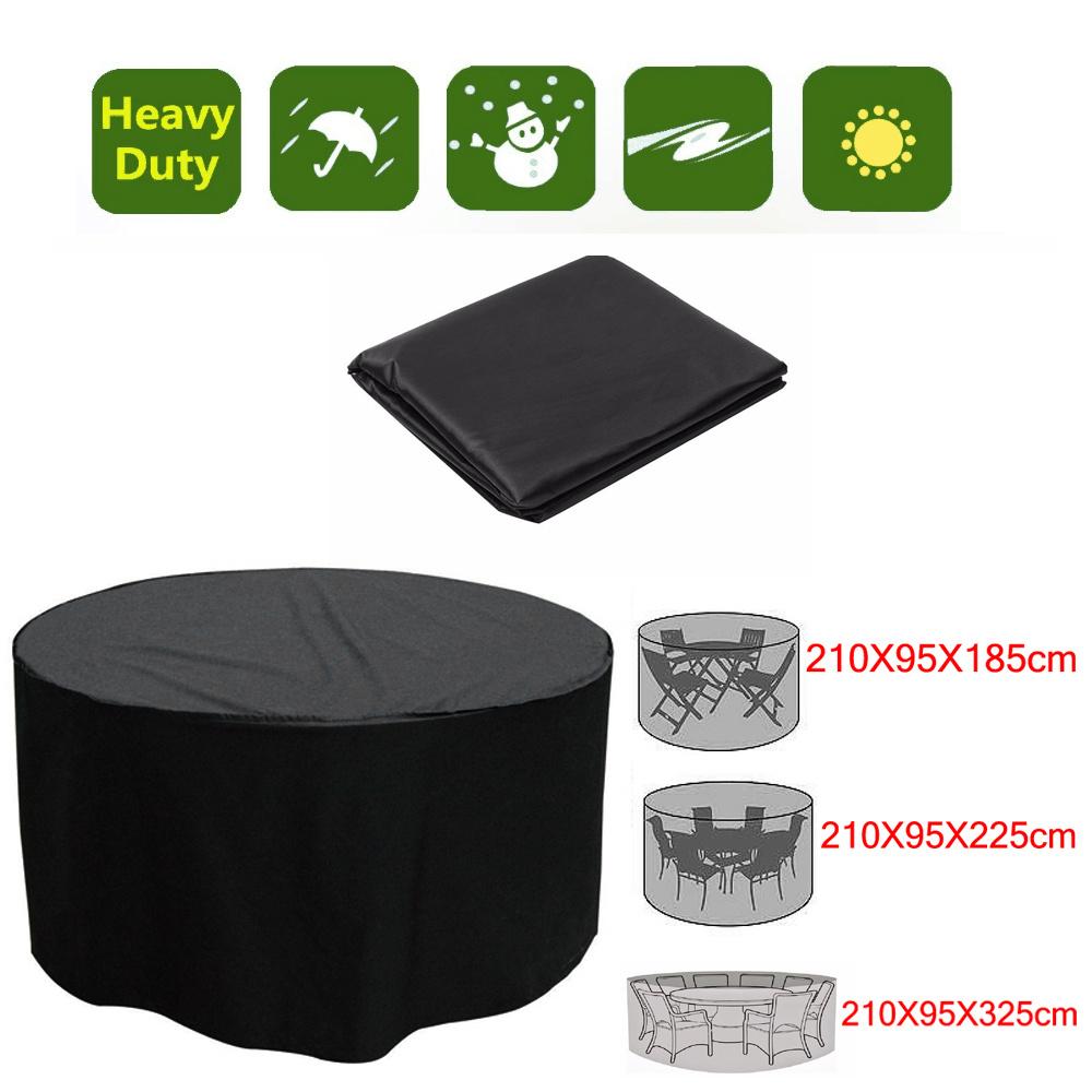Heavy Duty Waterproof Outdoor Rattan Table Cube Covers
