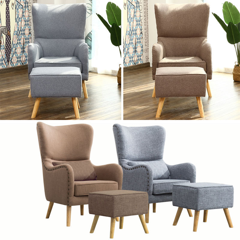 Modern Wingback Reading Recliner Chair