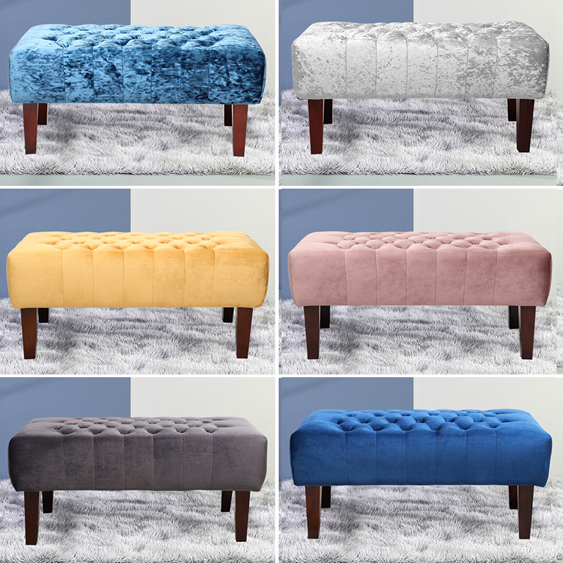 Remarkable Details About Retro Pouffe Velvet Footstool Footrest Ottoman Bench Chair Dressing Table Stool Andrewgaddart Wooden Chair Designs For Living Room Andrewgaddartcom