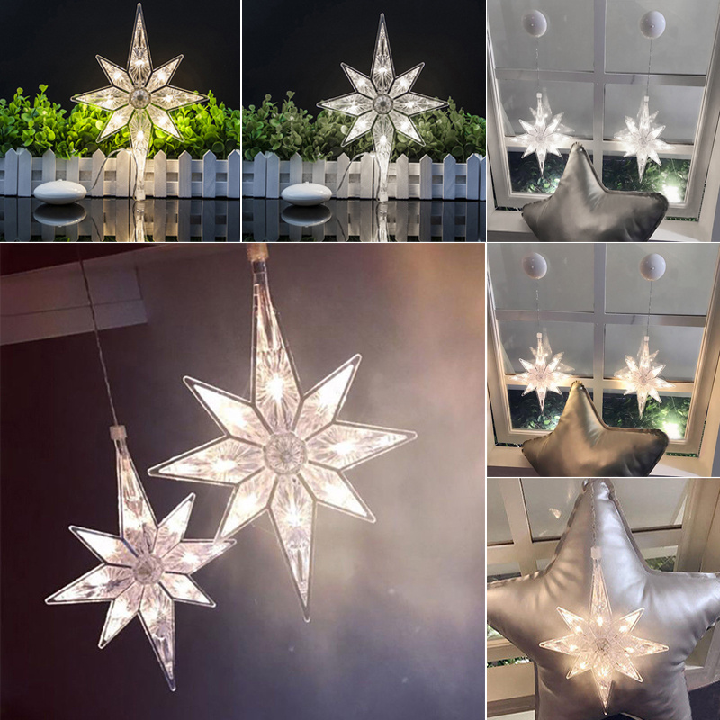 Bedroomxmas Star Fairy String Hang Large Snowflake Window Led Decoration Details About Lights 6g7Ybfy