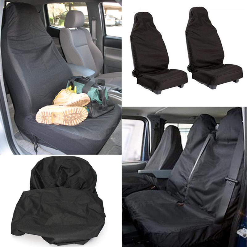 waterproof washable handy car seat cover front bucket full protection clean care ebay. Black Bedroom Furniture Sets. Home Design Ideas