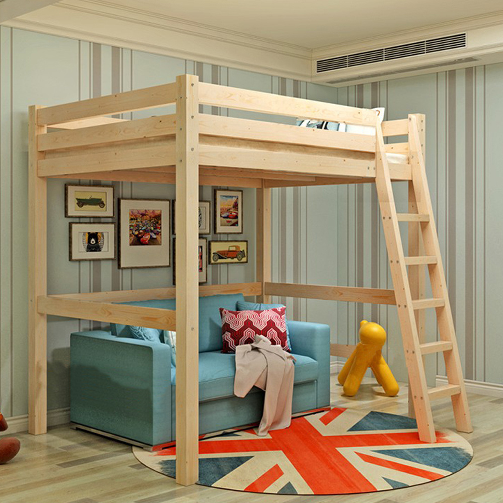 Cabin Bed High Sleeper Bunk Bed Loft Beds Tent Kids ...