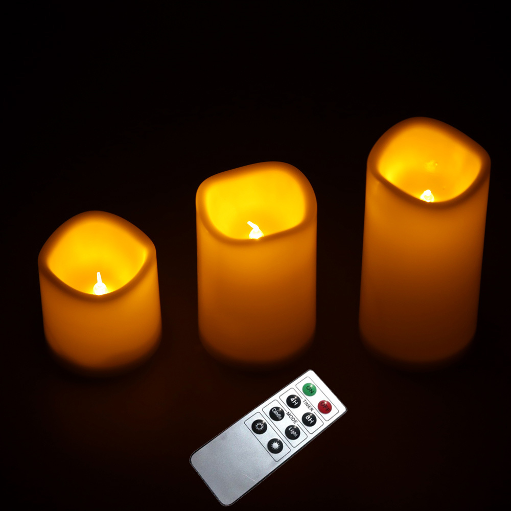 flameless flickering battery operated led tea lights candle remote. Black Bedroom Furniture Sets. Home Design Ideas