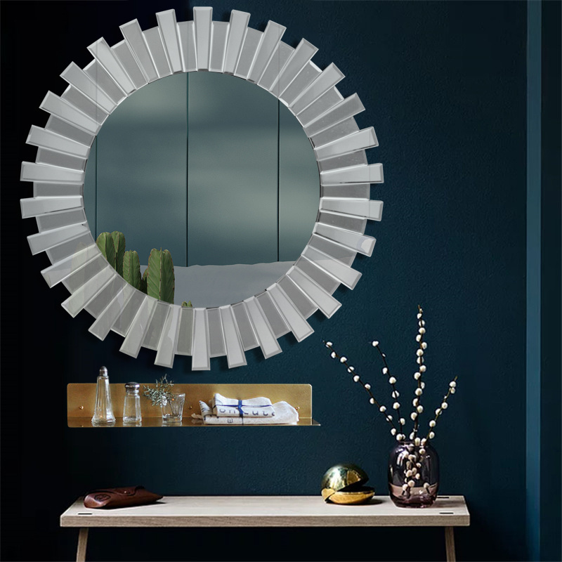 Bevelled Glas Spiegel Wandspiegel Sonnespiegel
