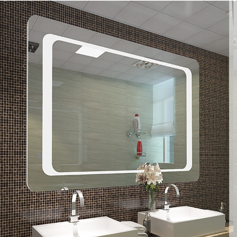 Details About Extra Large Bathroom Wall Mirror Led Lighted Unit Sensor Demister Clear Gl Ce