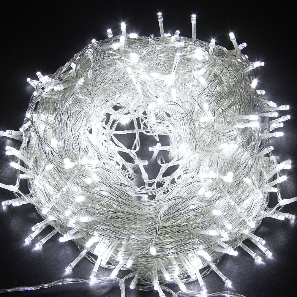 Electric Plug-In 30M Fairy String Lights Outdoor Garden Christmas Party Wedding eBay