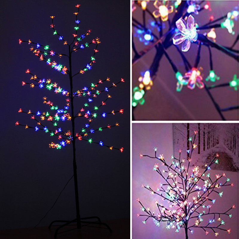 Christmas Tree Flower Power : W uk transformer power christmas led tree with