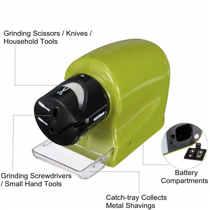 Battery Operated Carving Knife: Electric Battery Operated Sharpener For Motorized Multi