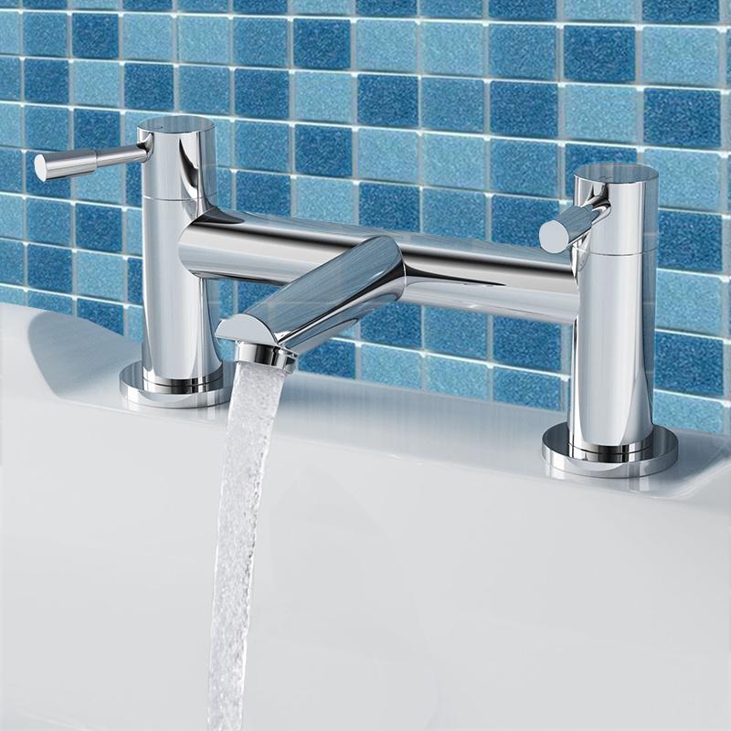 Bathroom Sink Washroom Basin Monoblock Single Lever Chrome Brass ...