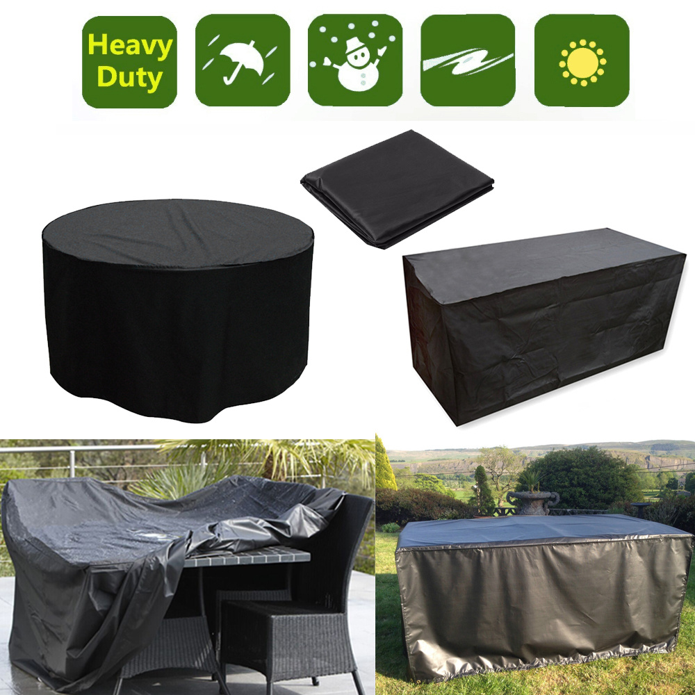 Waterproof 4 6 8 10 Seater Furniture Set Cover Table Chair Covers Outdoor Pat
