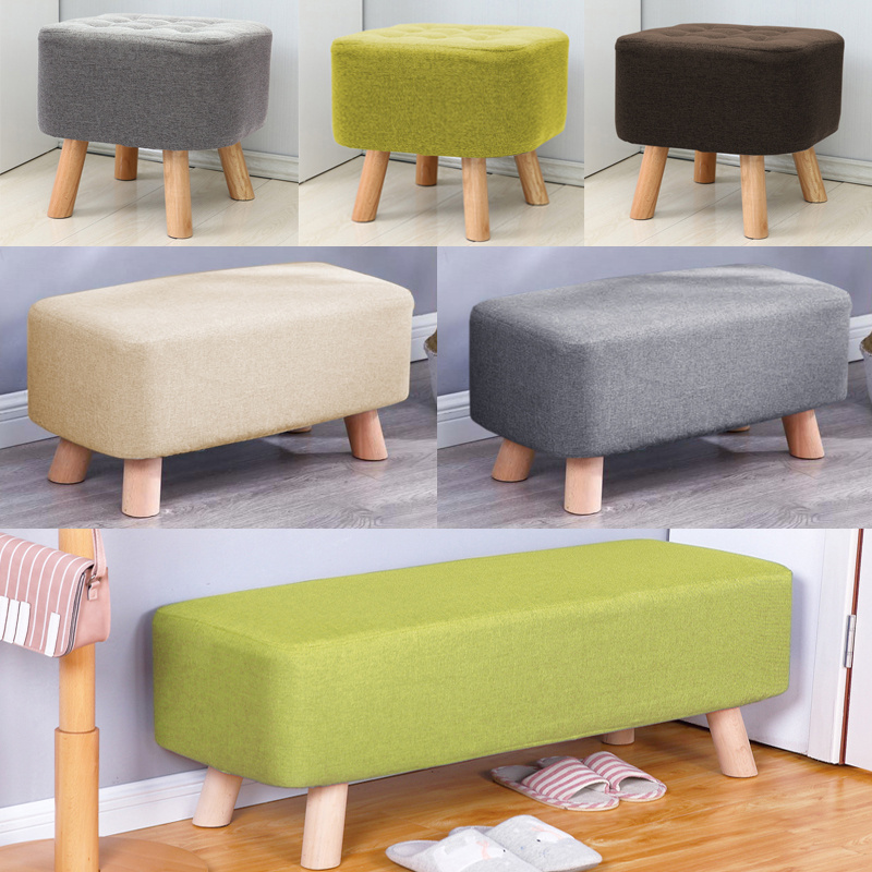 Brilliant Details About Upholstered Pouffe Side Chair Foot Stool Sofa Footrest Ottoman Bench Foam Seat Andrewgaddart Wooden Chair Designs For Living Room Andrewgaddartcom