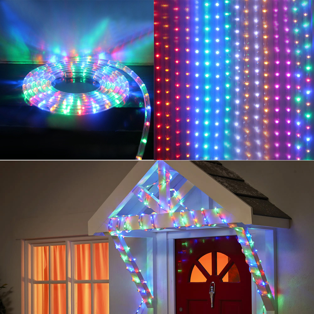 10m30m50m waterproof led rope light outdoor lights christmas wedding birthday or party illuminations and etc package 1 x rope light color and as the title stated or you select by drop down menu aloadofball Choice Image