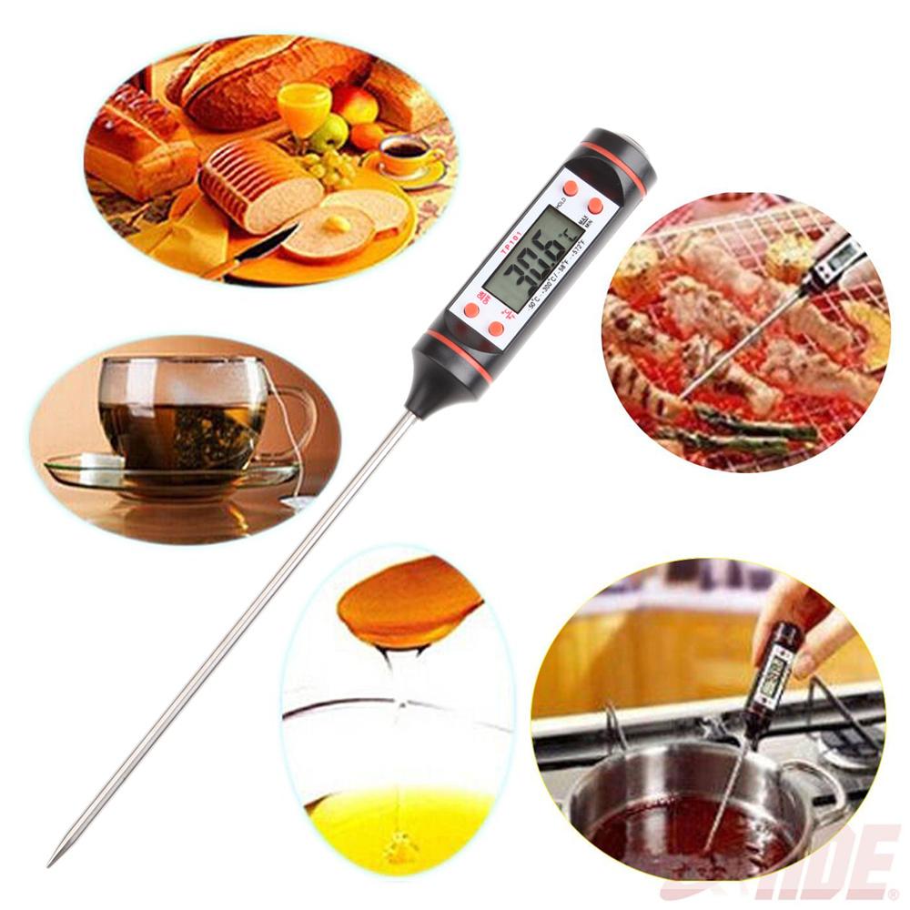 Digital Food Thermometer Kitchen Jam Sugar Deep Fried Chicken ...