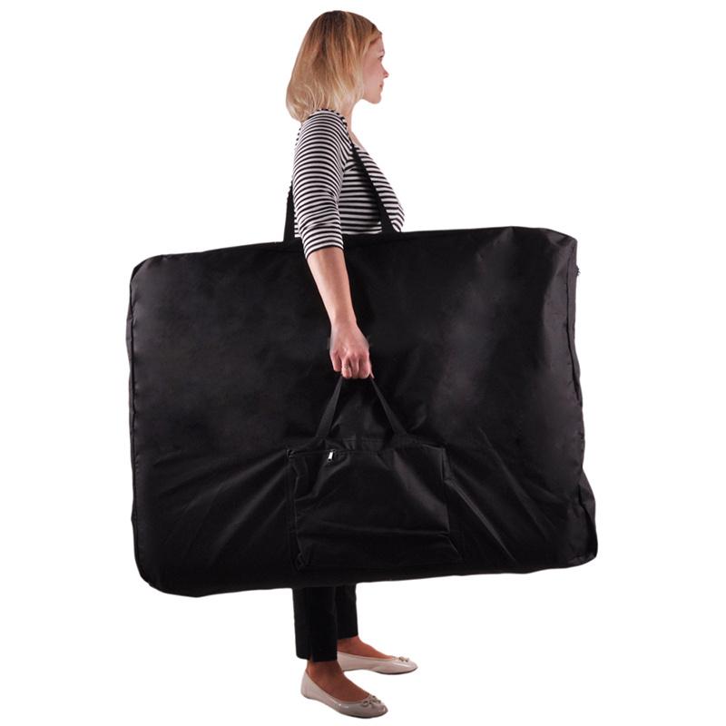 Portabe Black Carry Bag Case For Folding Massage Table
