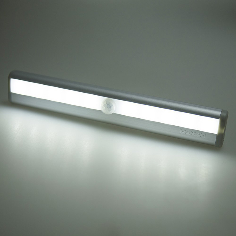 10 Led Motion Activated Daywhite Sensor Led Light Indoor