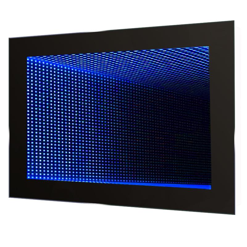 Bathroom Infinity Mirror 3d Tunnel Led Illuminated Effect