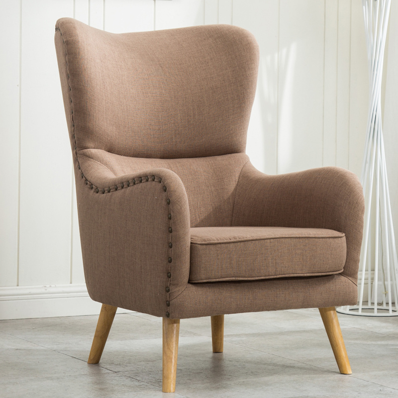 Occasional Padded Orthopedic Wing High Back Armchair ...