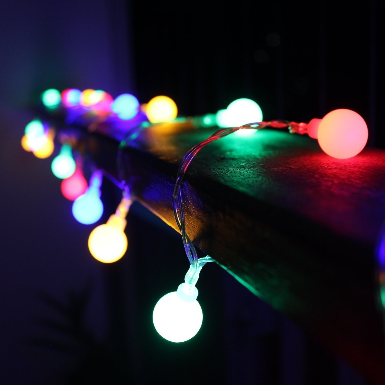 Ball String Lights Indoor : 100 LED Bulbs String Lights Ball Globe Fairy Lamp Festival Xmas Indoor Outdoor eBay