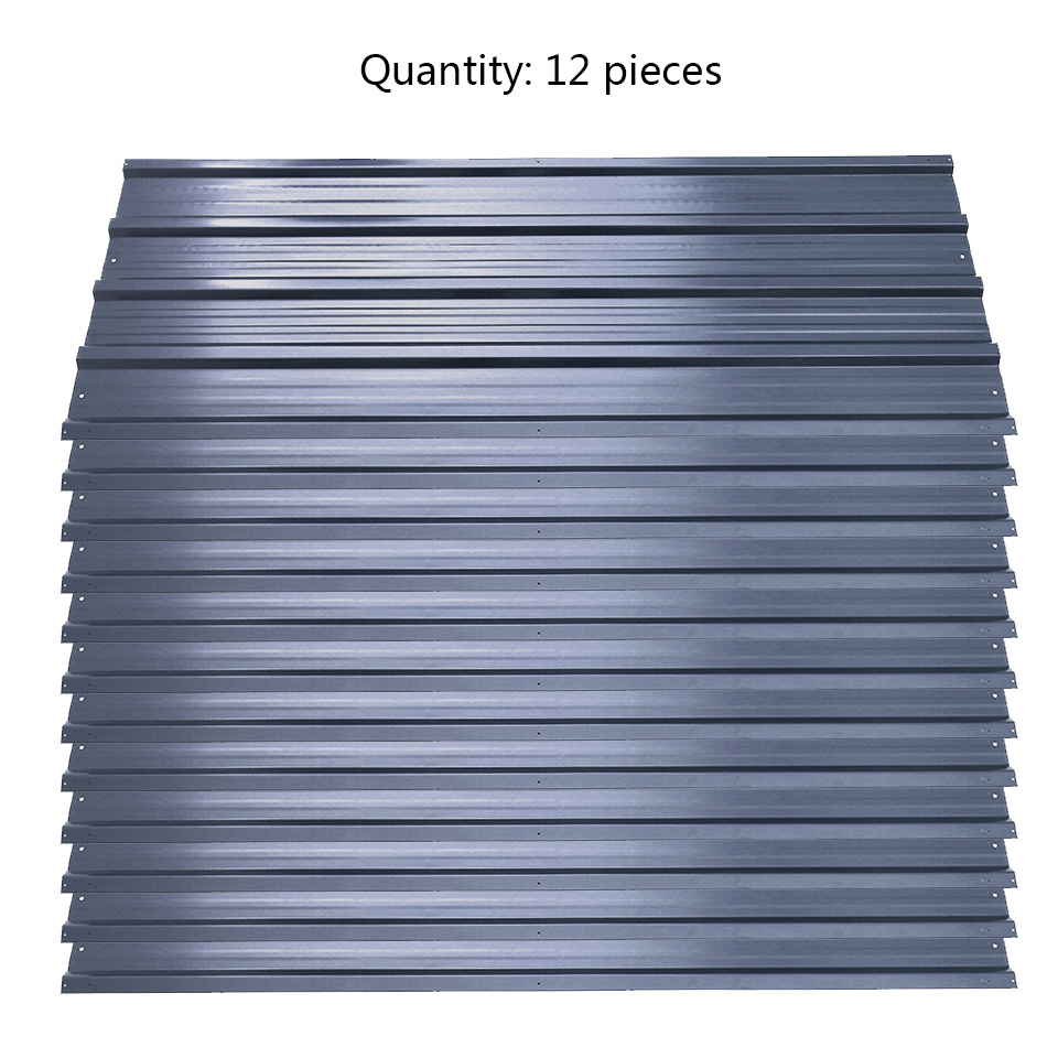 12 Sheets Profiled Steel Corrugated Metal Roof Sheet
