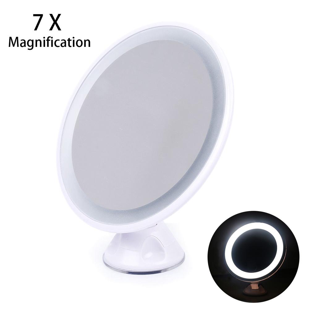 7x Magnification Magnifying Led Illuminated Make Up Mirror Cosmetic