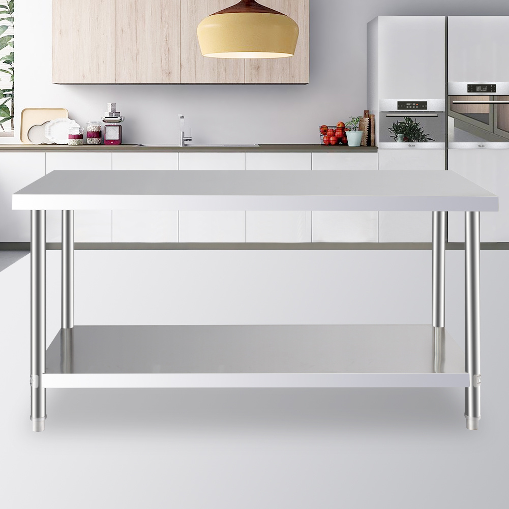 Awe Inspiring Details About 2Tiers Stainless Steel Operating Platform Working Bench Kitchen Storage Table Uk Pdpeps Interior Chair Design Pdpepsorg