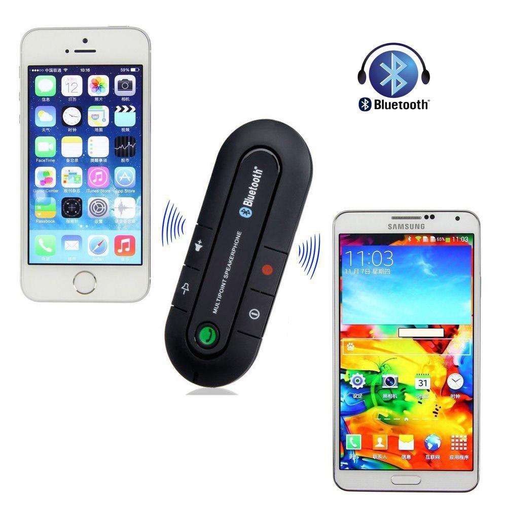 Wireless Bluetooth Handsfree Car Kit Speakerphone Speaker
