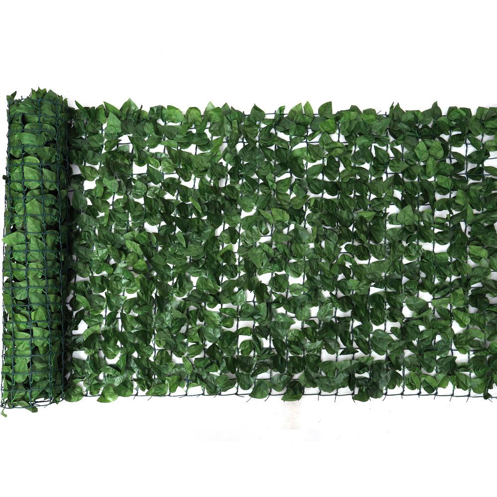 Blickschutz Kunstliche Efeu Leaf Hecke Garten Sichtschutz Balkon
