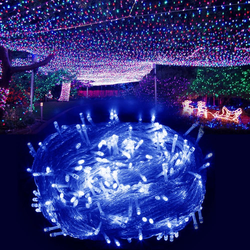 20m 100m Led Fairy String Christmas Lights Inside Outside
